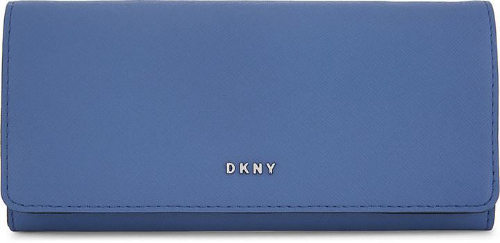 DKNYDkny Bryant Park leather carryall wallet