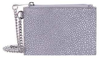 MICHAEL Michael Kors Embossed Leather Zip Pouch