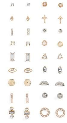 BP 18-Pack Stud Earrings