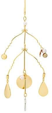 Mounser MOUNSER WOMEN'S ABSTRACTED SHOWER EARRING - GOLD