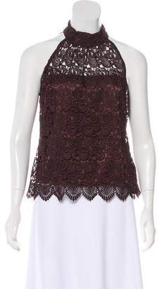 Milly Guipure Lace Top