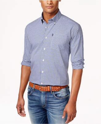 Barbour Men's Leonard Gingham Check Long-Sleeve Shirt