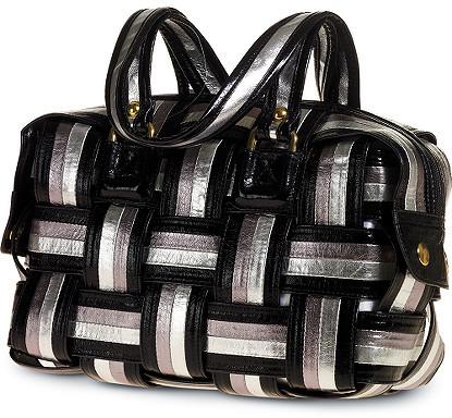 Woven Metallic Bag