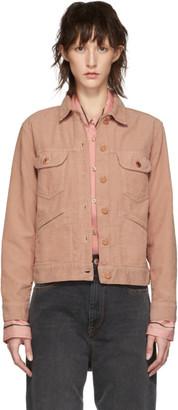 Etoile Isabel Marant Pink Corduroy Foftya Jacket