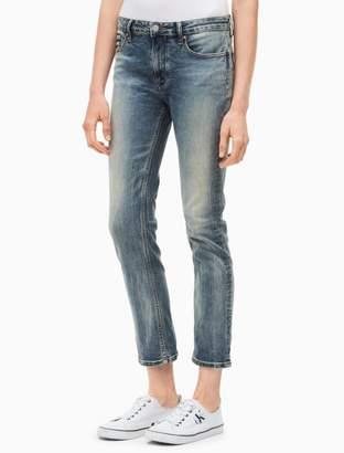Calvin Klein slim boyfriend dusk jeans