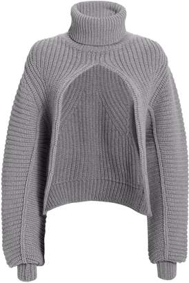 Alexander Wang Split Turtleneck Sweater