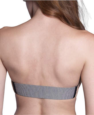"The Bra Lab ""Parisian Pinstripe Back"" Multiway, Interchangeable Back Strap"