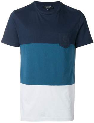 Ron Dorff colour-block short sleeve T-shirt