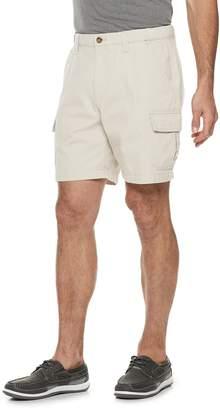 Croft & Barrow Men's Classic-Fit Flex-Tab 7.5-inch Twill Cargo Shorts
