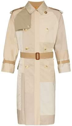 Children Of The Discordance tonal cotton trench coat
