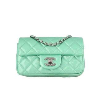 Chanel Timeless Green Patent leather Handbag