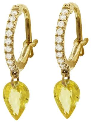 Raphaele Canot Set Free Yellow Sapphire Hoop Earrings