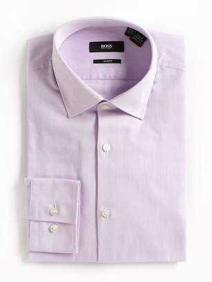 HUGO BOSS Men's Slim-Fit Cotton Dress Shirt