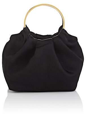 The Row Women's Double-Circle Micro Satin Bag