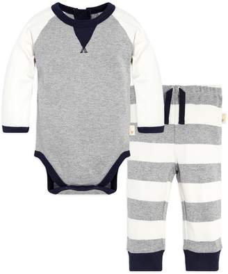 Burt's Bees Baby Baby Boy Baby Organic Coloblock Bodysuit & Striped Pants Set