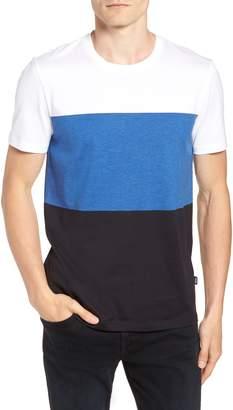 BOSS Tessler Colorblock Slim Fit T-Shirt