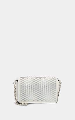 Christian Louboutin Women's Zoom Leather Chain Clutch - White