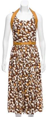 Sophie Theallet Printed Midi Dress w/ Tags