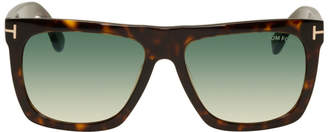 Tom Ford Tortoiseshell Morgan Sunglasses