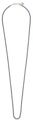 Ambush Cutball Sterling Silver Beaded Necklace - Mens - Purple