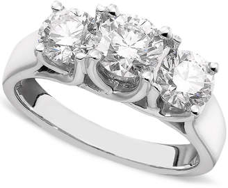 Macy's Diamond Ring in 14k White Gold (2 ct. t.w.)