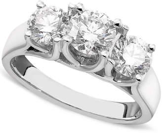 Macy's Diamond Ring in 14k White Gold (2 ct. t.w.)