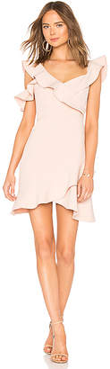 BCBGMAXAZRIA Malik Asymmetrical Dress