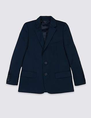 Marks and Spencer Notch Lapel Blazer (3-14 Years)