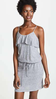 Lanston Ruffle Tank Mini Dress