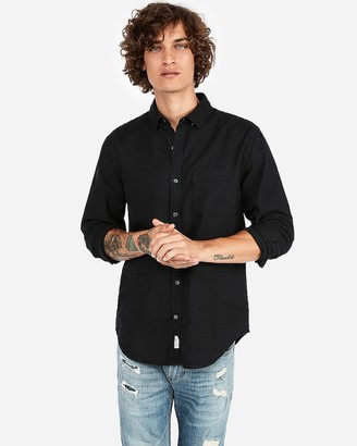 Express Classic Soft Wash Button-Down Oxford Shirt