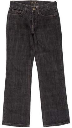 Loro Piana Mid-Rise Straight Jeans