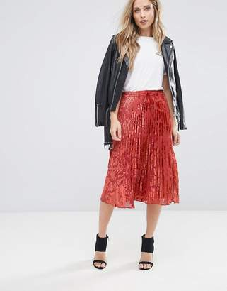 Whistles Pleated Skirt