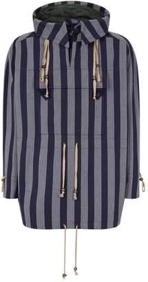 Vivienne Westwood Striped Hooded Anorak