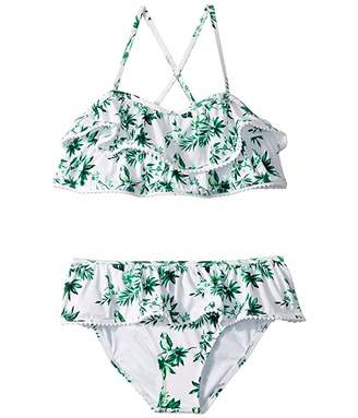 Janie and Jack Tiered Ruffle Two-Piece Swimsuit (Toddler/Little Kids/Big Kids)