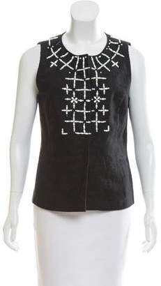 Emilio Pucci Sleeveless Embellished Top