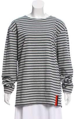 Kule Striped Long Sleeve Top w/ Tags