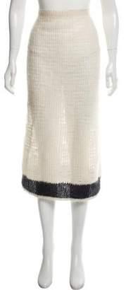 Calvin Klein Collection Fall 2014 Midi Skirt