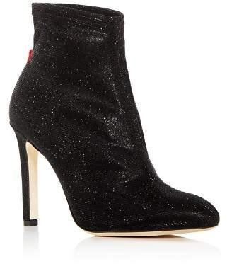 Sarah Jessica Parker Women's Apthorp Shimmer High-Heel Booties