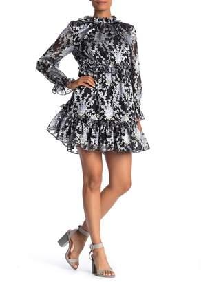 Ted Baker Florae Ruffle Skater Dress