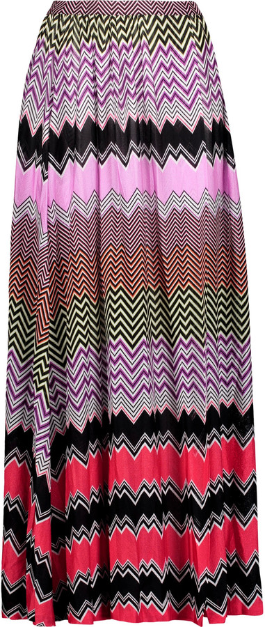MissoniMissoni Wrap-effect crochet-knit coverup
