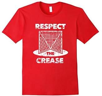 LaCrosse Respect the Crease LAX Goalie T-Shirt