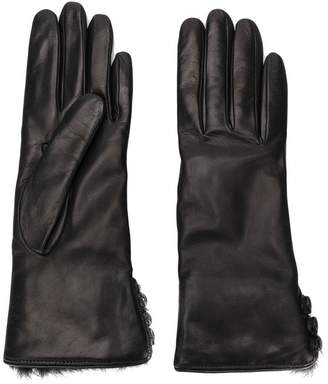 Gala Gloves buttoned cuffs gloves