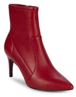 Charles David Pride Leather Point Toe Booties