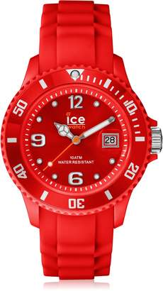 Ice Watch Ice-Watch Men's SI.RD.B.S.09 Sili Collection Plastic and Silicone Watch
