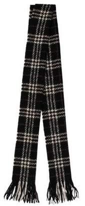 Burberry Nova Check Wool-Blend Scarf