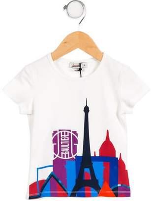 Junior Gaultier Girls' Star Graphic T-Shirt