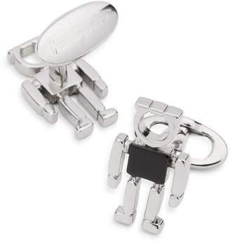 Salvatore Ferragamo Gancio Enamel Robot Cufflinks