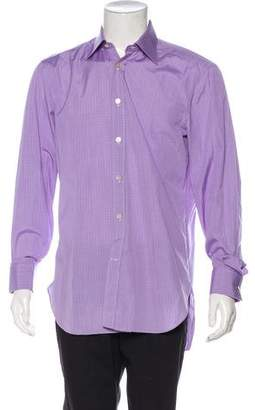 Kiton French Cuff Dress Shirt