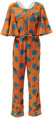 Hari Supersweet X Moumi Mata Onesie Balloons Orange