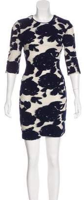 Reiss Printed Mini Bodycon Dress